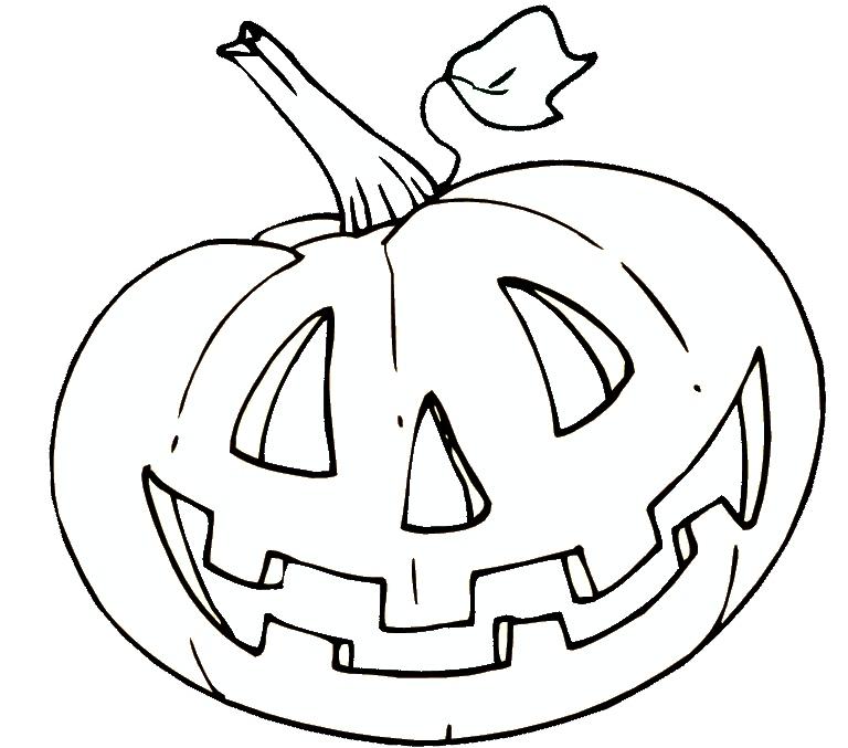 Halloween - Malvorlagen