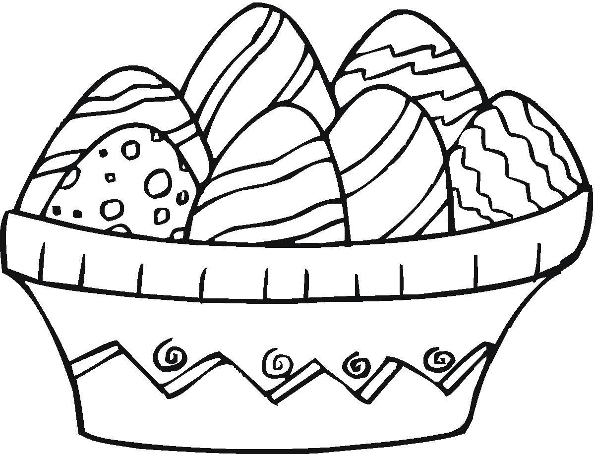 Malbilder für Ostern - tolle Beschäftigung für die Kleinen!