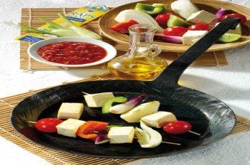 vegetarischer grillspie mit tofu 8 spie e f r 4 personen. Black Bedroom Furniture Sets. Home Design Ideas