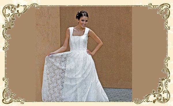Romantik Pur Hochzeitskleider Mit Bandern Und Spitze