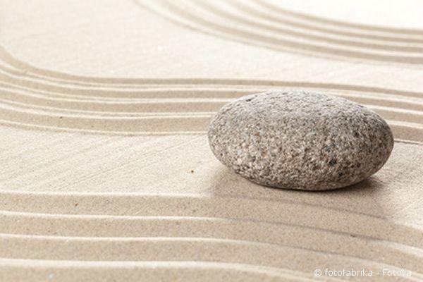 der zen-garten fürs wohnzimmer, Gartengestaltung